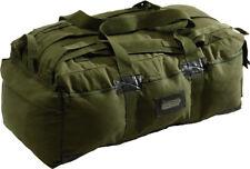 """Olive Drab Military Israeli Mossad Duffle Bag Backpack 34"""" x 15"""" x 12"""""""