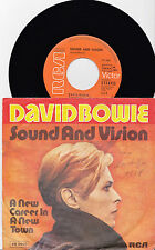"""7"""" VINYL- SINGLE: DAVID BOWIE- Sound And Vision"""