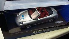"1:18 PORSCHE 911 CARRERA Cabriolet AUTOart ""Edelstahl Witten-Krefeld GmbH""  OVP"