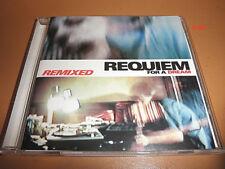 REQUIEM FOR A DREAM soundtrack REMIXED cd OAKENFOLD kronos quartet 112 hive