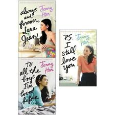 Jenny Han 3 Book Collection to All The Boys I've Loved Before Always and Foreve