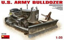 U.s. Army Bulldozer Kit 1 35 Miniart Min35195
