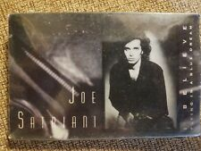 Joe Satriani I Believe Cassette Single -STILL SEALED-