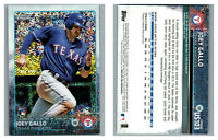 2015 TOPPS UPDATE CHROME SPARKLE RC US103 JOEY GALLO RANGERS