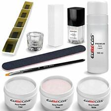 EuBeCos Acryl Nagel Starterset PLUS Liquid 100ml - MADE IN GERMANY