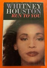 WHITNEY HOUSTON RUN TO YOU FACTORY SEALED CASSETTE SINGLE