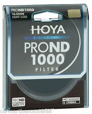 Hoya 52mm Pro ND 1000 10 stop Filter for SLR, Nikon, Canon etc