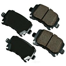 Disc Brake Pad Set-Euro Ultra Premium Ceramic Pads Rear Akebono EUR1348