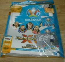 Panini Adrenalyn XL UEFA Euro 2020 Starter Pack: Album, 24 Cards, 2 Limited Ed