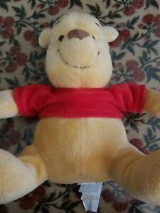 """Disney Winnie the Pooh Plush Bear 12"""" Ships"""