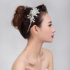 Braut Haarschmuck Hochzeit Haarband Haargesteck Haarreif Perlen Kunstperle Band