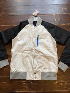 Womens Nike sportswear Varsity jacket coat Size Large UK 14 baseball retro cool