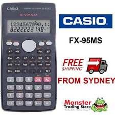 AUSTRALIAN SELER CASIO SCIENTIFIC CALCULATOR FX-95 FX95 FX95MS 12 MONTH WARRANTY