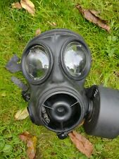 More details for british army s10 respirator gas mask with canister nbc fancy dress fetish