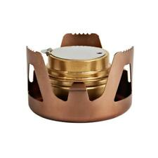 Portable Alcohol Stove Stand Camping Spirit Burner Stove Rack Holder Copper