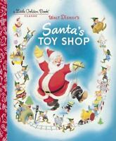 Santa's Toy Shop (Disney) (Little Golden Book) by Dempster, Al, Good Book