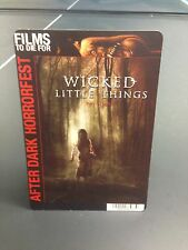 """Movie Backer Card """"Wicked Little Things After Dark Horrorfest"""" *Mini Poster*"""