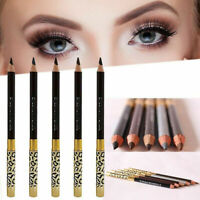 Waterproof Long Lasting 2 in1 Eye Brow Eyeliner Eyebrow Pen Brush Make Up Tools