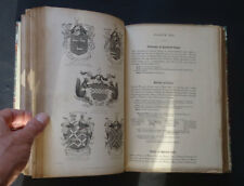 HERALDIC ILLUSTRATIONS Armorial Bearings & Families of the Empire Heraldry 1844