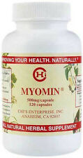 Myomin by Chi Enterprise Inc. - 500mg / Capsule - 120 Caps - Herbal Supplement