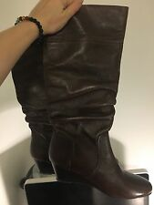 Steve Madden Daly wedge boot size 11