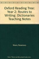 Very Good, Oxford Reading Tree: Year 2: Routes to Writing: Dictionaries Teaching