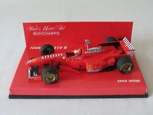 EDDIE IRVINE 1997 Ferrari F310B Paul's Model Art Minichamps Formula One F1 1:43