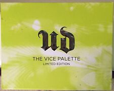 Urban Decay The Vice Palette Limited Edition New