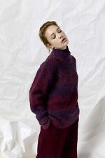 Lang Yarns Carina Knitting Pattern Pullover As Download Pto