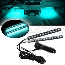 Ice Blue 2X12 LED Car SUV Interior Floor Decor Atmosphere Light Neon Strips New