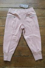 Stella McCartney Capri 3/4 Joggers Sweatpants Smoked Pink Size 8