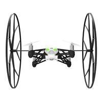 Parrot Mini Drone Rolling Spider-White/Green-Mini Camera Attached-Easy Flips-NIB