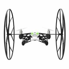 Parrot Mini Drone Rolling Spider-White/Green-Mini Camera Attached-Easy Flips-NIB