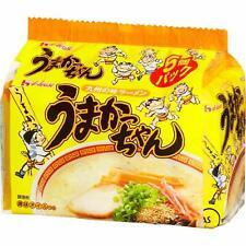 House Umakatchan Japanese Instant Ramen Noodles pork bone broth Tonkotsu 5 packs