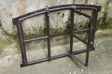 Gussfenster schwarz Stallfenster mit Bogen und Flügel 56x42 FeN1101s