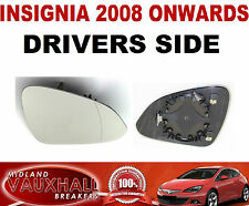 INSIGNIA WING MIRROR GLASS ELECTRIC & HEATED DRIVERS OFF SIDE SRI CDTI ELITE SE