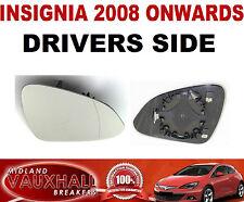 INSIGNIA WING MIRROR GLASS ELECTRIC & HEATED DRIVERS OFF SIDE SRI CDTI ELITE SE