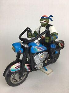 VTG 1994 TMNT Bodacious Bikers Cruisin Leo Playmates Toys