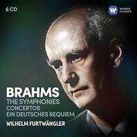 Wilhelm Furtwängler - Brahms: The Symphonies, Ein Deutsches Requiem, C (NEW 6CD)