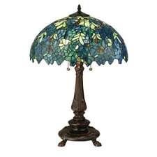 Meyda Lighting 26'H Nightfall Wisteria Table Lamp - 124815