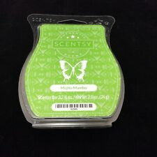 Scentsy Wax Melt Mojito Mambo 3.2 Ounce Wickless Candle Tart Warmer