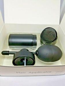 Hair Fibers Dispenser Combo Sprayer Atomizer & Shaker Bottle Toppik Compatible