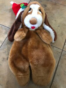 Vintage Sad Sam's Honey Claus Plush Christmas  Stocking Sock .