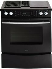 Maytag Jenn-Air Electric Slide-In Range Oven Model JES9750BAB
