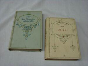 (Delly) La colomba del castello + Mitzi 1935 Salani 2 vol.
