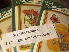 Elsa Williams Small Floral Crewelwork Embroidery Kit-4x6 Inches-Your Choice