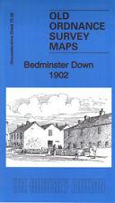 OLD ORDNANCE SURVEY MAP BEDMINSTER DOWN 1902