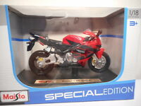 Diecast 1:18 Maisto Motorcycle 600RR Motorbike Model Toy Collect Toy Kids Gift
