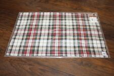 """POTTERY BARN Denver Plaid Lumbar 16 x 26"""" Pillow Cover ~ NEW WITH TAGS"""