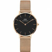 DANIEL WELLINGTON DW00100161 WOMENS WATCH ROSE GOLD PETITE 32MM - BNIB WITH TAGS